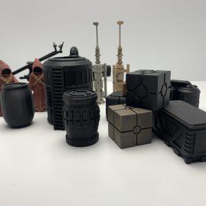 Diorama Teile